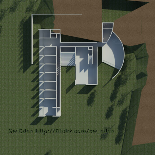 Koshino House floor plan Revit Architecture model Sw Ede – Koshino House Floor Plan