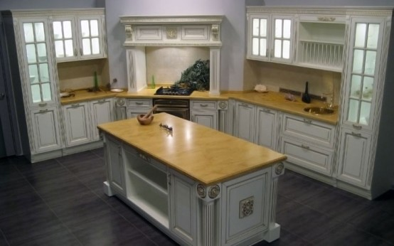 Luxury Classic Kitchen Designs By Giulia Novars 6