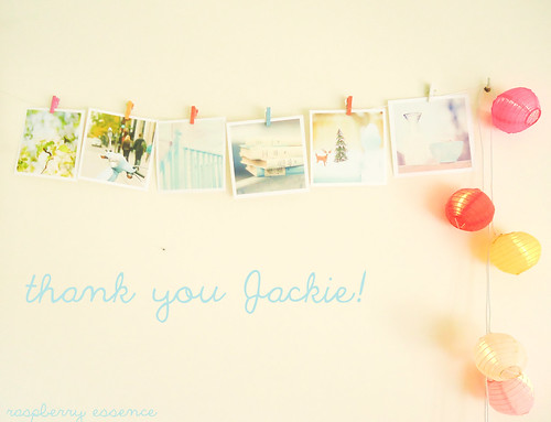 {thank you Jackie} | by {Silvia photography}