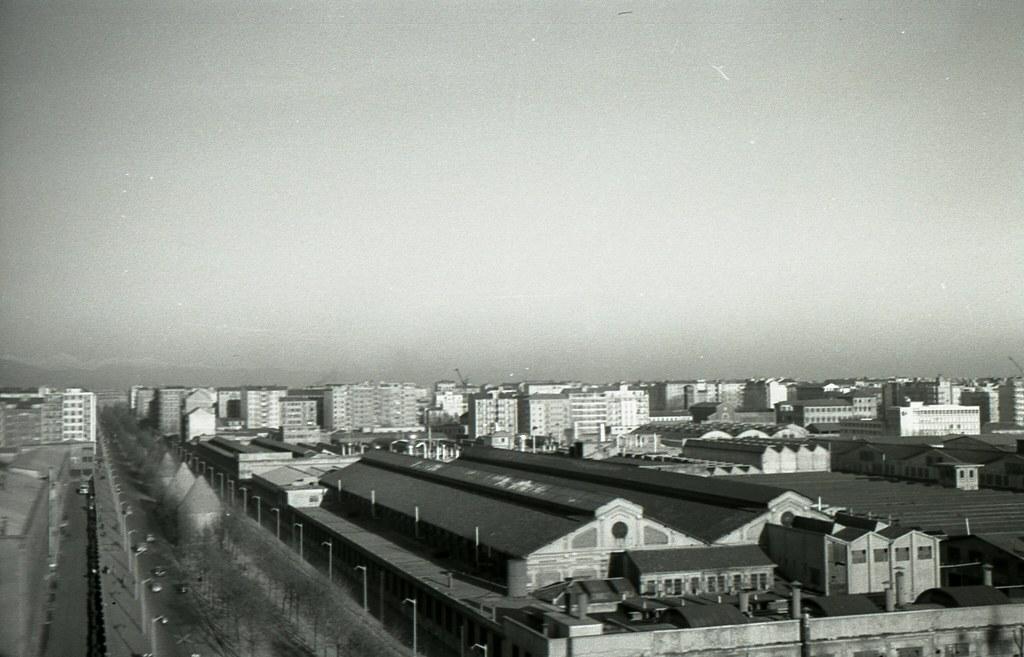 milano, fabbrica alfa romeo del portello - febbraio 1959 | flickr