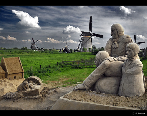 Once upon a time... in Kinderdijk! | by B'Rob