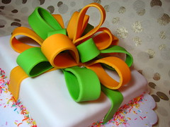 Another Gift Box Cake | by Ken's Oven