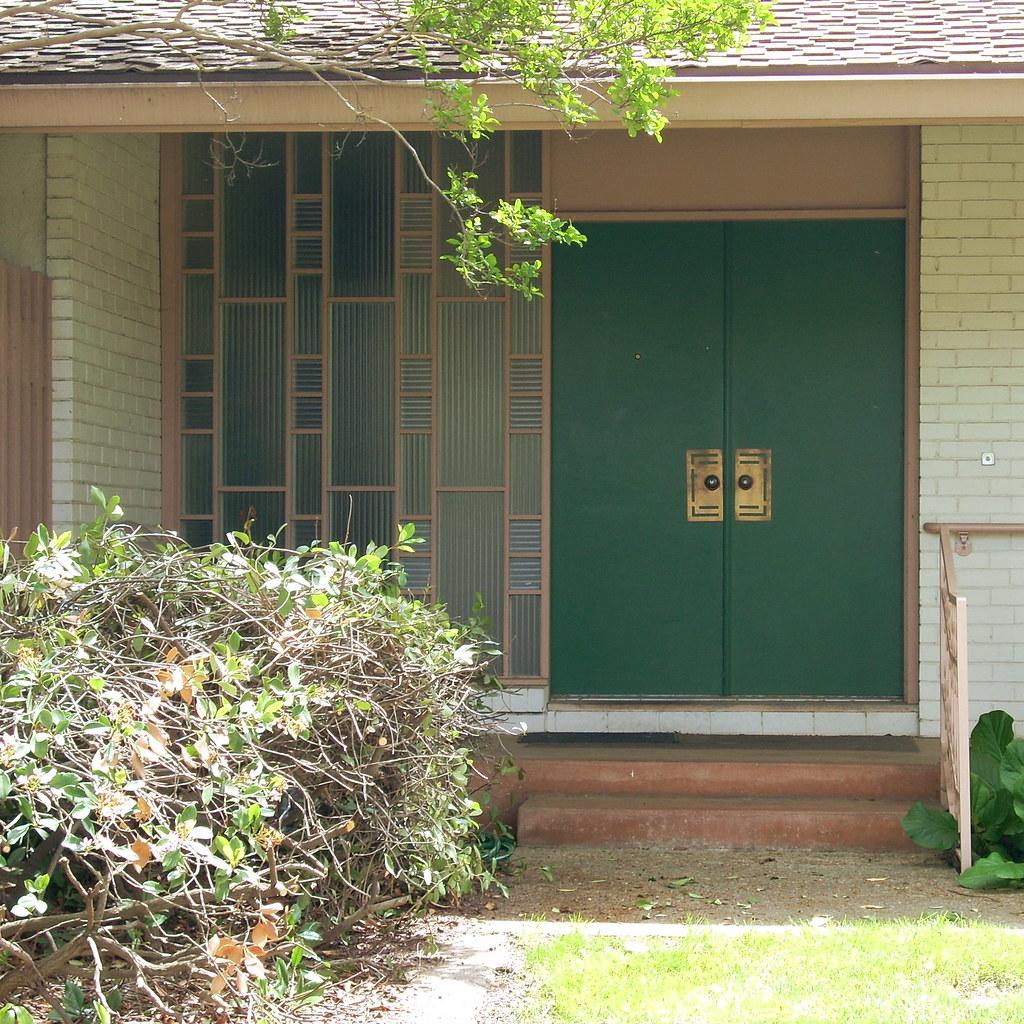 ^ Mid entury Modern Front Door  Modesto, .  J.L. Ordaz  Flickr