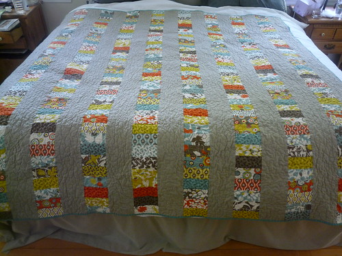 Stacked coins quilt | by Salt Marsh Designs