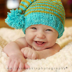 giggly baby | Another photo of my giggly elf baby! | Melissa ...