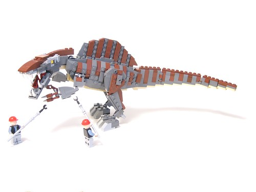 Don 39 t taze me bro the final version of my spinosaurus - Lego spinosaurus ...
