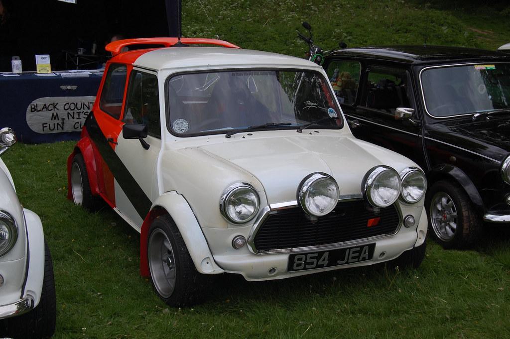 Mini Cooper Rally Car | A Mini Cooper Rally Car | Flickr