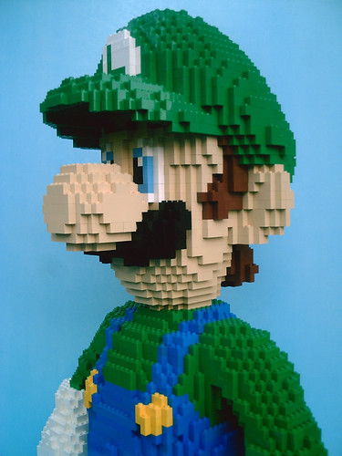 LEGO Luigi - close-up | by dm_meister