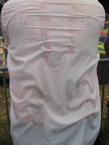Sweaty shirt back tattoos new orleans jazz and heritage for White heritage tattoos