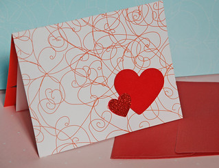 Happy Valentine's Day Greetings Card | by libelulacards