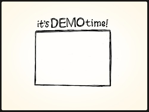 viznotes101 15 it s demo time a slide from my slide deck flickr