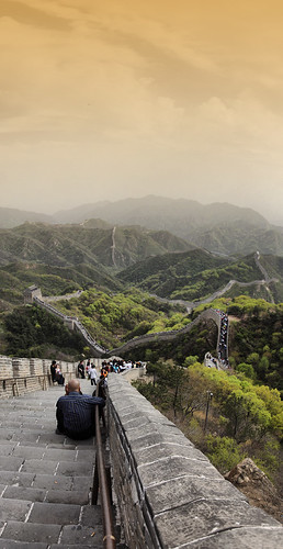 Great Wall, north of Beijing, China | by Gaston Batistini