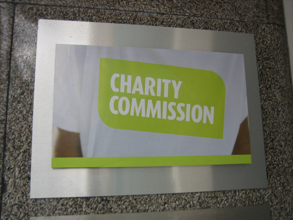 ... Charity Commission London Office Plaque | By HowardLake