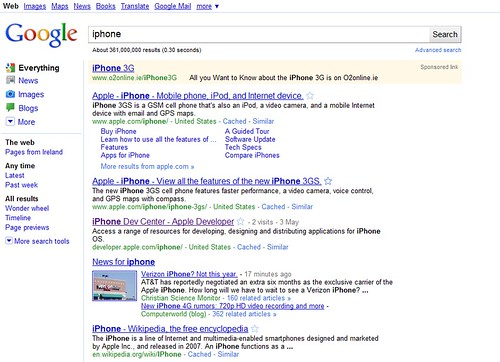 google search results | by Sean MacEntee