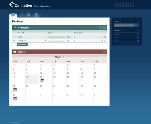 Collabtive Open Source Project Management Software and