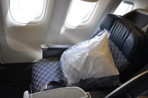 American Airlines Business Class Seat Boeing 777 James