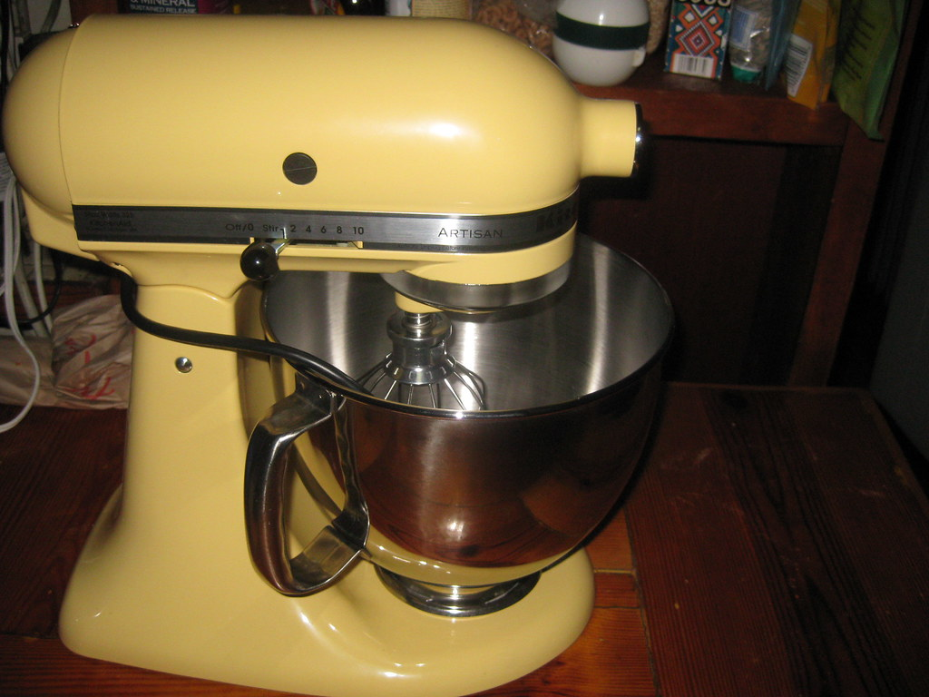 ... Kitchenaid Mixer In Majestic Yellow | By Veganroyale