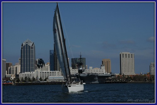 Sailing san diego harbour took a lovely sail in the for Weather 73025
