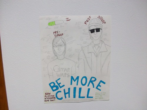 be more chill by ned vizzini essay Be more chill: of depression masculinity, and horse placenta supplements between be more chill the 2004 book.