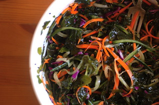 finished raw seaweed salad | by sweetbeetandgreenbean