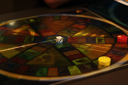 Trivial Pursuit | by Richard Hunt