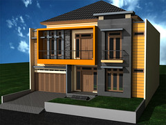 tampak depan rumah minimalis 2 lantai | desain rumah