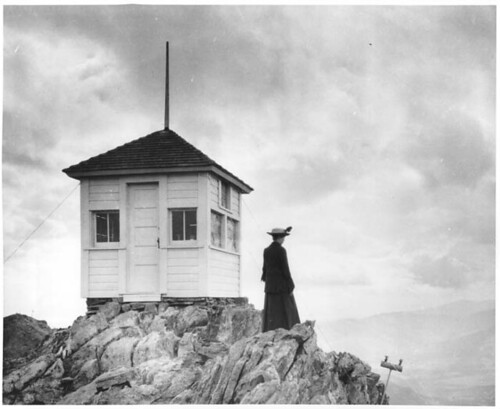 Twin Sisters fire lookout. | by The Forest History Society