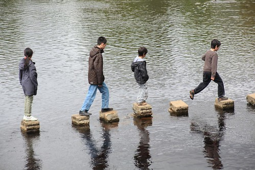 Stepping stones | by Richard Carter