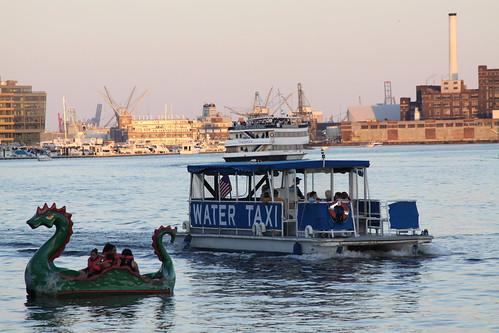 baltimore 678 Baltimore Inner Harbor Water taxi dragon p Flickr