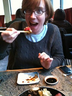 Joy in Eating Sushi Shocker! | by RodBegbie