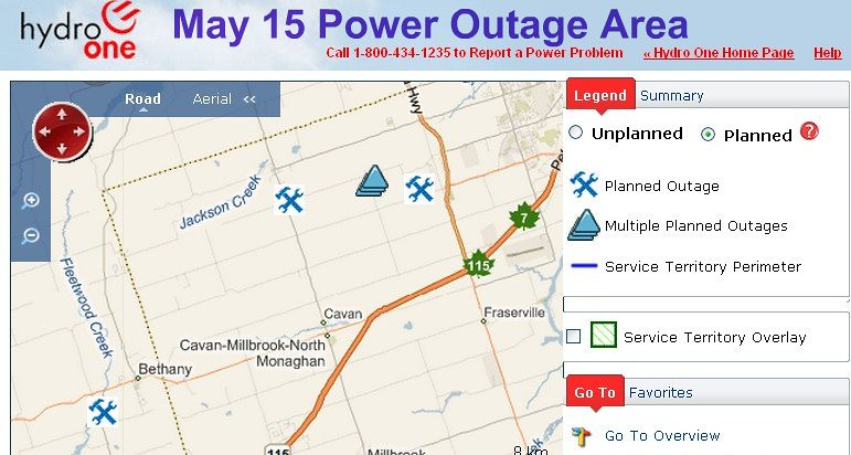 Hydro One Power Outage Affects 1500 Omemee Area Homes Flickr