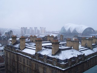 Techos nevados en Newcastle / Snowy Rooftops in Newcastle | by Jorchet