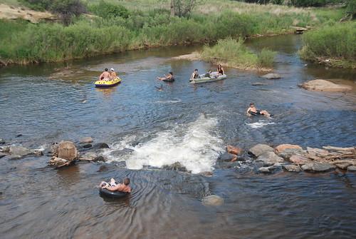 Boulder Creek Rafting (tubing)