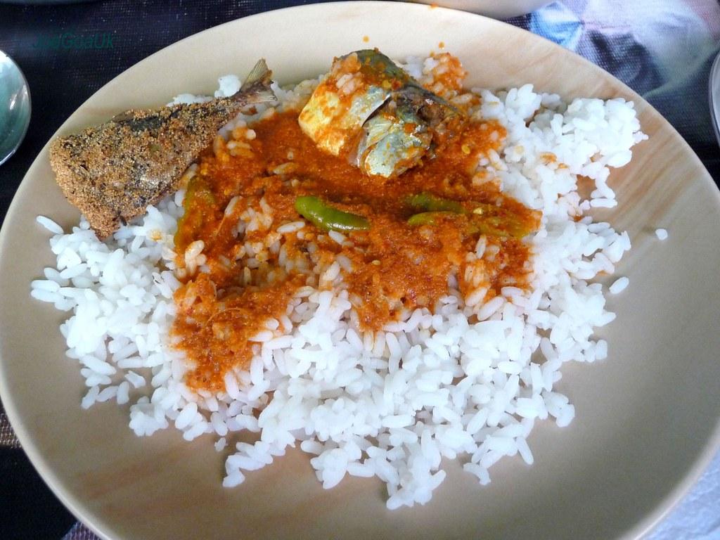 Fish Curry Rice Mackerel Cajie S Square Near Ex Cm Luis Flickr