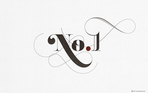 LIÁN TYPES »Reina« ❁ No.1 (for widescreen displays) | by arnoKath