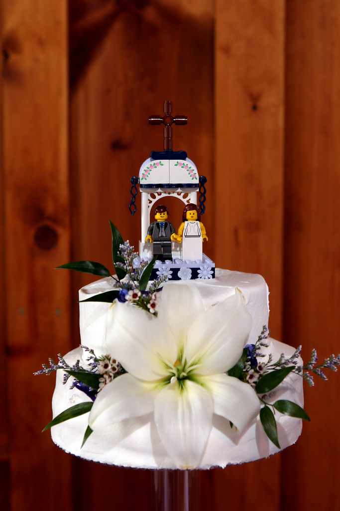 LEGO Wedding Cake Toppers 5th Scene Of 5 On