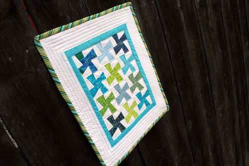 Mini Quilt on Fence 1 | by turning*turning