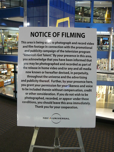 P1130294 Notice of Filming | by pi8you