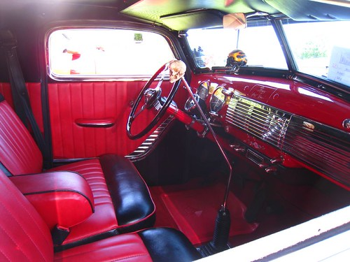 1950 chevy panel truck insane cherry interior literally for 1950 chevy truck door panel