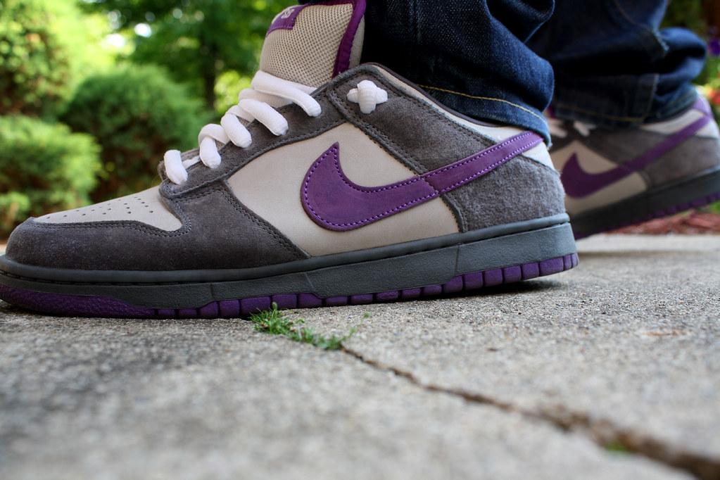 ... Nike SB Dunk Low Purple Pigeon   by socaltrojan77