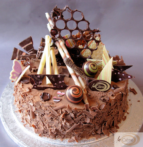 Chocolate Birthday Cake 2 Chocolate Birthday cake decorate Flickr