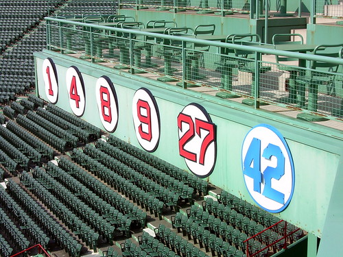 Fenway's Retired Numbers | by jcbwalsh
