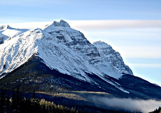 Banff / Lake Louise area mist | by Rnoltenius