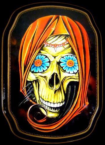 tattoo art damien friesz flower eye skull star of texa flickr. Black Bedroom Furniture Sets. Home Design Ideas
