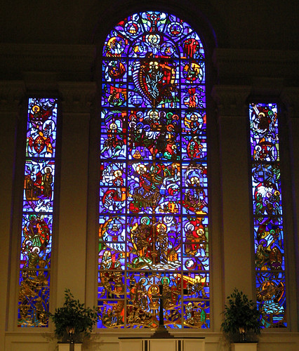 Second presbyterian church louisville ky the chancel for Window palla design
