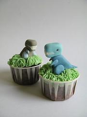 Little Dino Birthday Cake