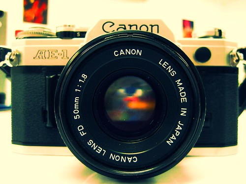 My Canon AE-1 | by baby-tooth