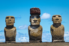 moai of Easter Island (published in National Geographic) | by Phil Marion