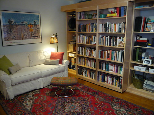 sliding bookcase murphy bed 1 from apartment therapy