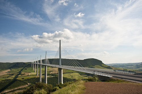 millau viaduct | by Philip Luedtke